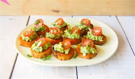 easy canape recipes nigella sweet potato toppers easy recipe