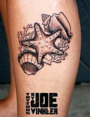 sand dollar tattoo  pinterest seashell tattoos leg