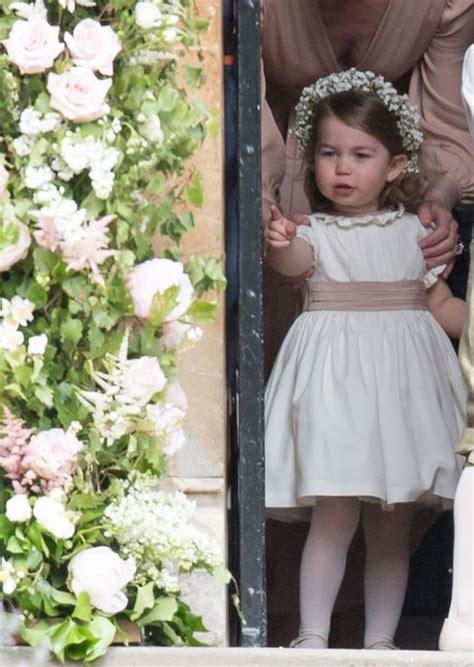 princess charlotte  pippa middletons cutest bridesmaid