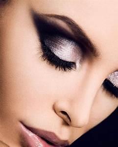 Smokey Eye Black and Silver Makeup   She's got Betty Davis ...
