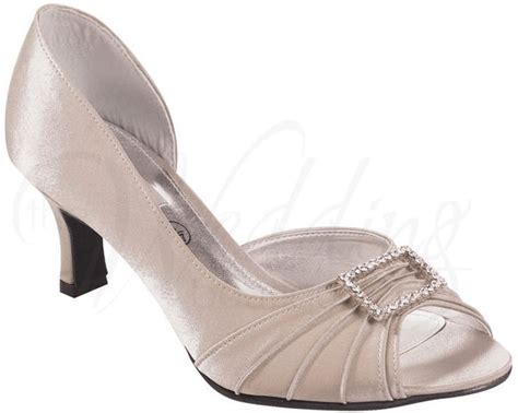 Christina Z031 Taupe Evening Shoes By Lexus (wider Fit