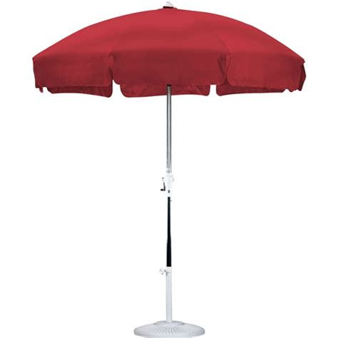 7 5 ft patio umbrella with push button tilt