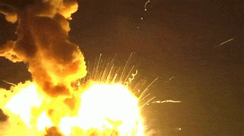 horrible wreck bugzilla explodes into flames cargo rocket explosion was intentional wqad