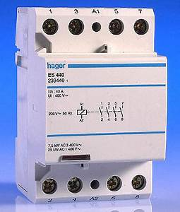 40 Amp 4 Pole Contactor