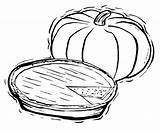 Pie Pumpkin Coloring Pages Food Squash Sheets Fall Clipart Drawing Printable Pies Print Action Getcolorings Clipground Pumpkins Pumkin Kidsdrawing Anycoloring sketch template