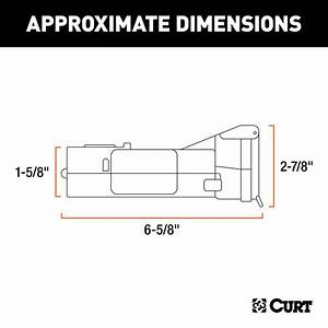 Curt Echo Mobile Trailer Brake Controller - Lc51180