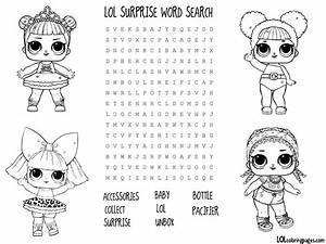Lol Surprise Doll Coloring Pages  U2013 Color Your Favorite Lol Surprise Doll
