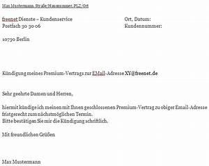 Kündigungsfrist Wohnung Beispiel : freenet k ndigungsschreiben ~ Frokenaadalensverden.com Haus und Dekorationen