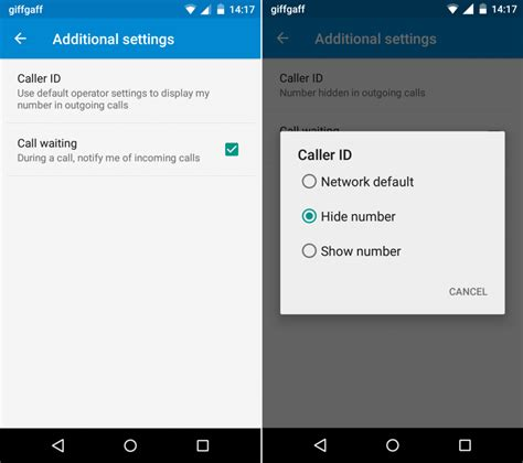 android id how to hide your number when calling someone