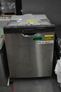 ge gdfpsmss  stainless full console dishwasher  hrt ebay
