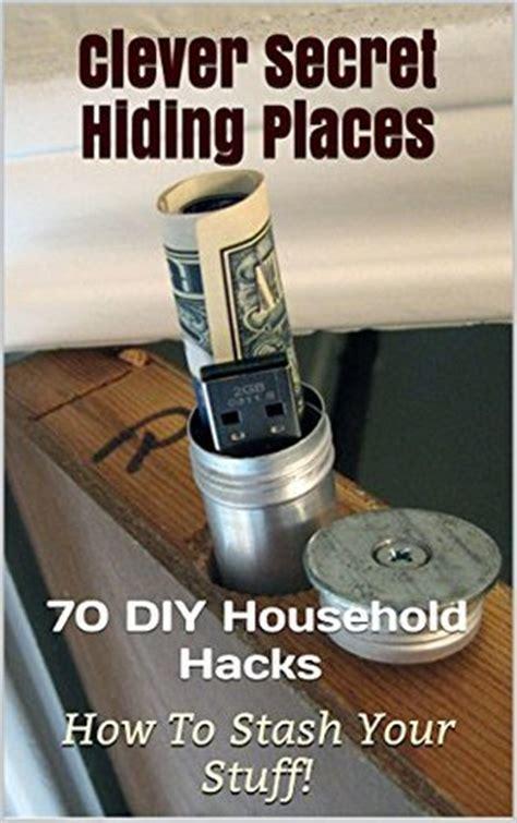 clever secret hiding places diy household hacks    stash  stuff secret hiding