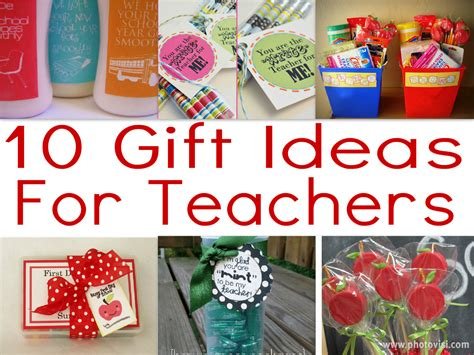 teacher gift ideas for beginning of the year for my