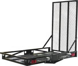 rhode island kitchen and bath 51 x 30 in steel hitch mount cargo carrier princess auto
