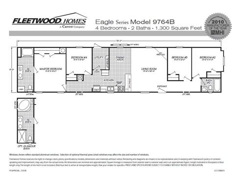 1995 fleetwood mobile home floor plans stunning 16x80 mobile home floor plans ideas flooring