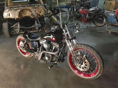 Harley Davidson Dyna Street Bob Fxdb Custom Bobber Chopper