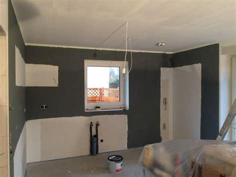 Wand Grau Streichen by W 228 Nde Streichen In K 252 Che Und Wohnzimmer Mit Frogtape