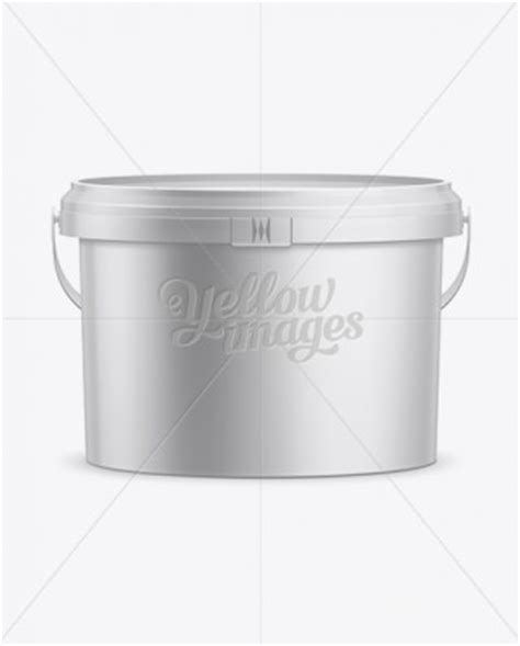 Cosmetic bottle label mockup presentation. 20L Plastic Paint Bucket Mockup | Mockups for Packaging ...