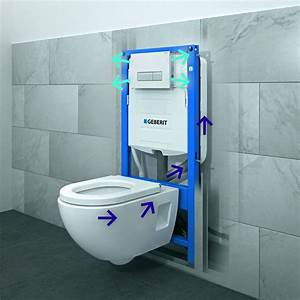 Wc Vorwandelement Verkleiden : bati support wc geberit duofix duofresh ~ Michelbontemps.com Haus und Dekorationen
