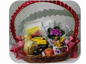 cesta café da manhã m capricho flores