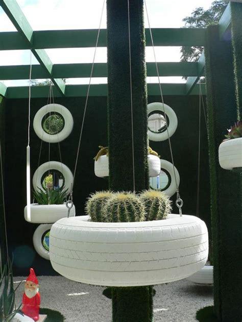Pflanzkübel Für Balkongeländer by Gebrauchte Autoreifen Kreativ Und Nachhaltig