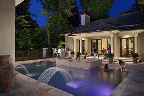 outdoor lighting perspectives of augusta pool lighting