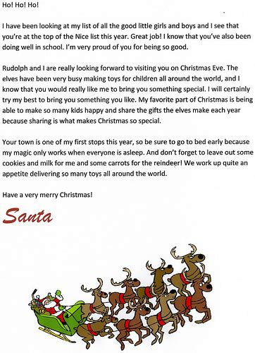 free printable letters from santa free printable santa letters at letter tips 67735