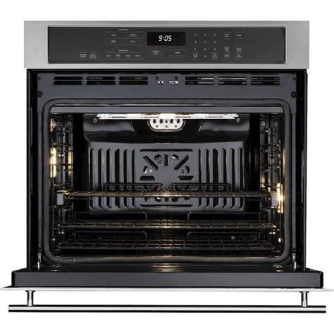 monogram  single electric convection wall oven stainless steel  pacific sales
