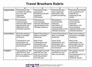 what to write in a travel brochure
