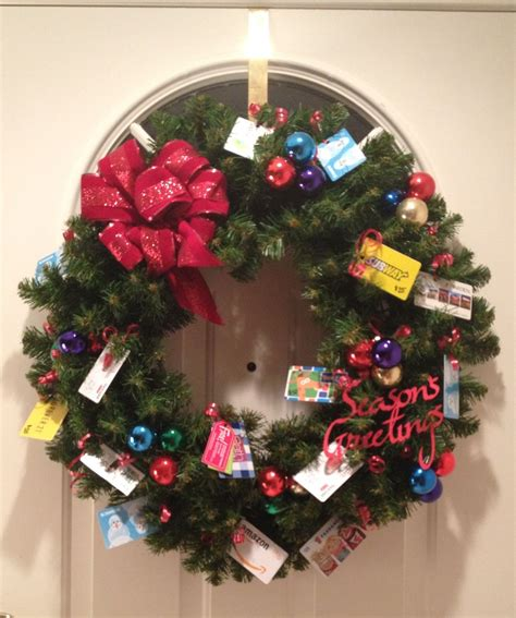 gift card wreath  needy family love   images
