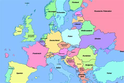 europakarte deutsch mit hauptstaedten  blog