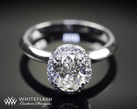 guinevere oval diamond engagement ring 5701