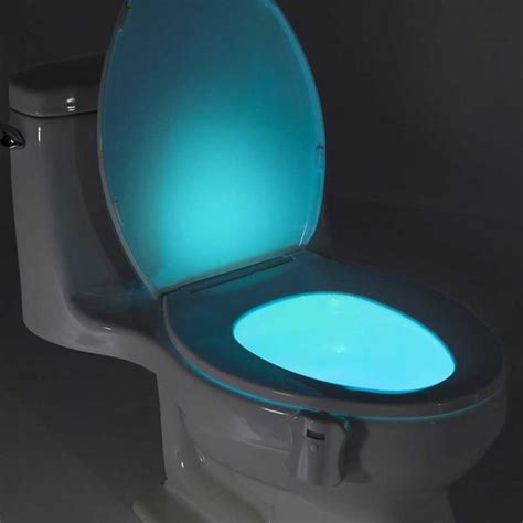 light up toilet seat light up toilet bowl oddgifts