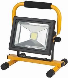 Projecteur De Chantier Led : eclairage de chantiers projecteur led portable sans fil ~ Edinachiropracticcenter.com Idées de Décoration