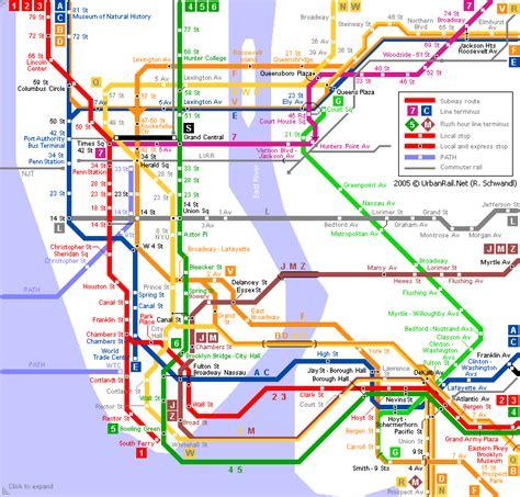 Metro Map Pictures New York City Metro Map