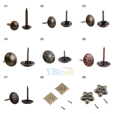 Upholstery Nails Tacks by 100pcs Vintage Upholstery Nails Studs Tacks Pins Furniture