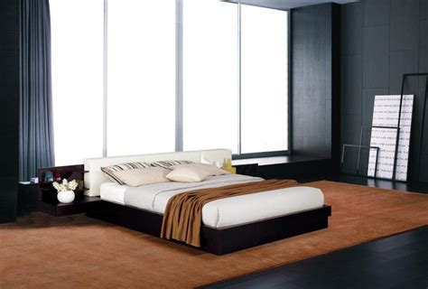 Nightstand With L Attached by Extravagant Wood Modern Platform Bed With Storage St