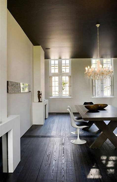 dramatic black ceiling ideas