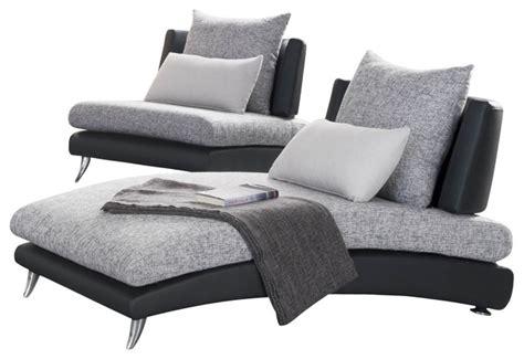 grey chaise lounge chair shop houzz homelegancela inc homelegance renton