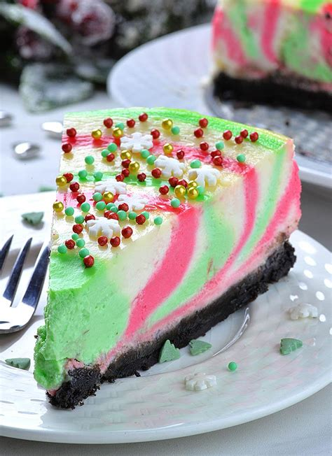 Classic mexican desserts like flan and quick and easy treats like mexican brownies are a sweet way to finish your fiesta. Christmas Cheesecake | The Best Christmas Dessert Recipe