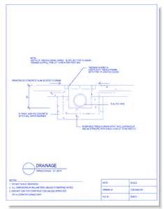 Balcony Section Detail by Drainage Caddetails Com Caddetails