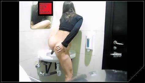 girl shitting toilet