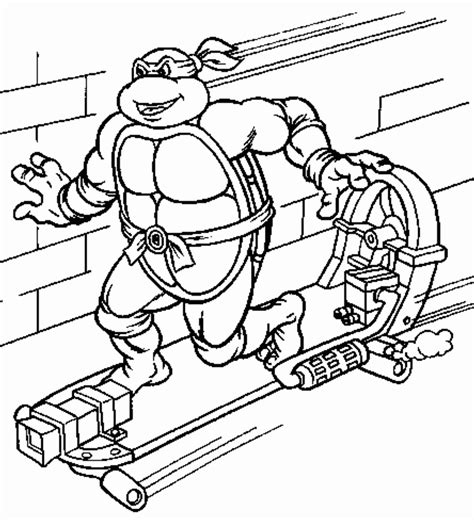 Print Download The Attractive Ninja Coloring Pages For