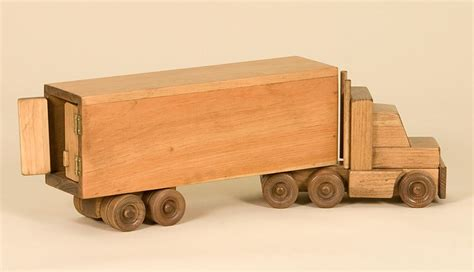 wood toy truck patterns    outdoor