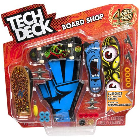 walmart tech decks skateboards tech deck board shop colors and styles may vary 8 10