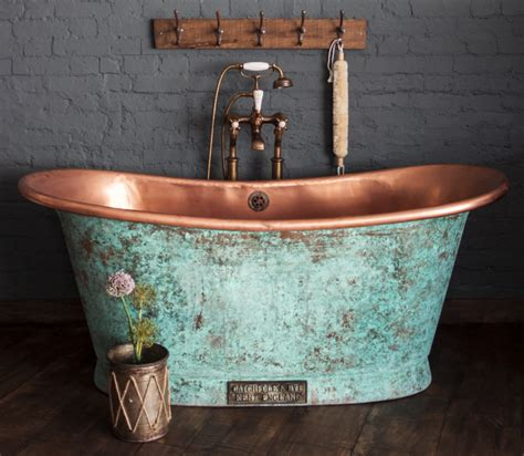 vat tub the copper bateau in weathered copper catchpole rye 163 4