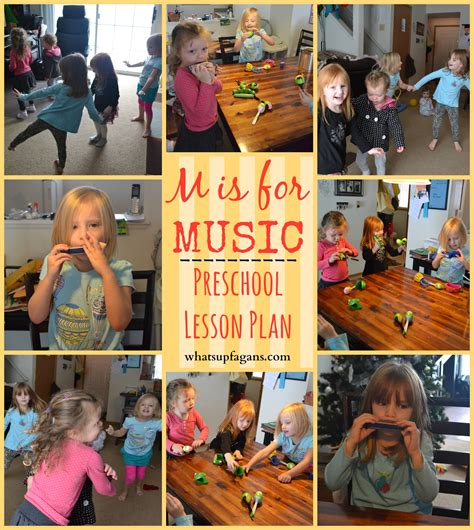 letter m activities for preschool m is for lesson 741 | M is for Music Preschool Lesson Plan1