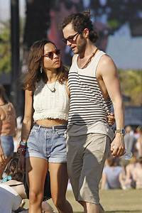 Penn Badgley in Penn Badgley and Zoe Kravitz at Coachella ...
