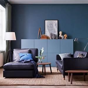 Deco Salon Ikea : salon bien choisir la couleur marie claire maison ~ Teatrodelosmanantiales.com Idées de Décoration