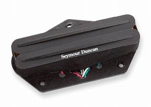 Seymour Duncan Sthr-1b Hot Rails Tele Pickup
