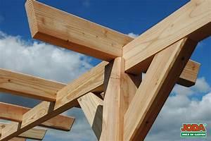 Pergola Bausatz Holz : holz pergola komplett bausatz 3 pfosten ~ Articles-book.com Haus und Dekorationen